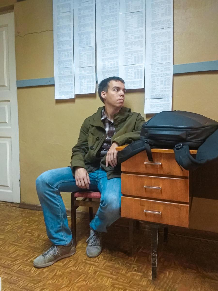 Воодушевленный проведенным занятием Валерий Дмитриевич готов даже принимать пересдачи у должников по любому курсу.