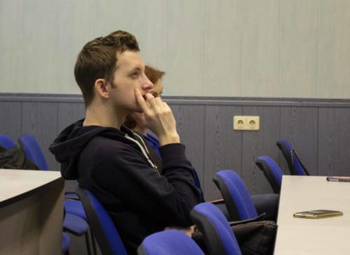 Участник научного семинара