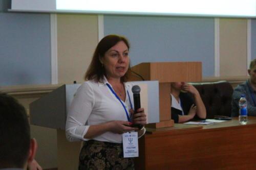 Татьяна Валентиновна Тулупьева на пленарном заседании