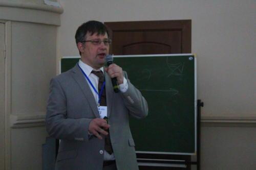 Александр Львович Тулупьев на пленарном заседании