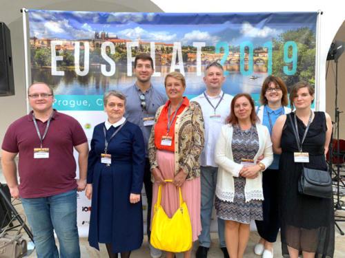 Коллектив лаборатории ТиМПИ с коллегами на конференции EUSFLAT–2019